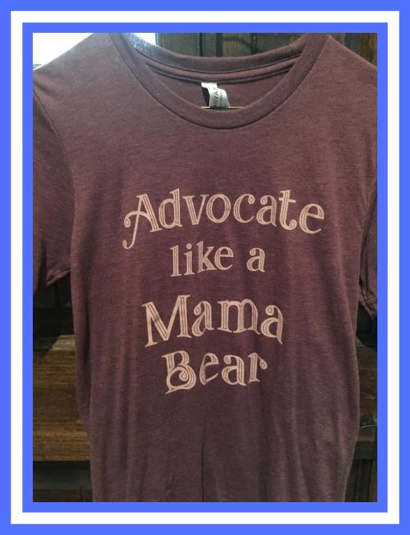 OKHPR - Advocate Like A Mama Bear T-Shirt