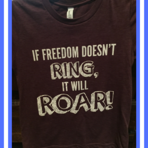OKHPR - If Freedom Doesn't Ring, It Will Roar! Kids T-Shirt